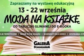 """Galeria Dominikanska """"Moda na Książkę"""""""